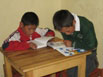 Peruvian Boys Reading