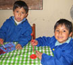 Peruvian Boys Say Cheese